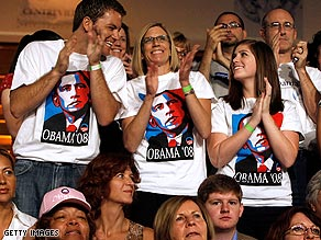 Obama supporters are more excited about voting than McCain's, according to pollsters.