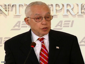 Attorney General Michael Mukasey says Congress should define the rules for detainee hearings.