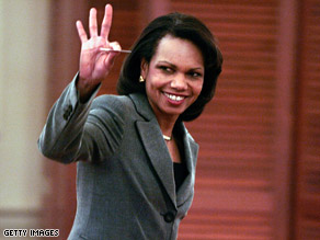 Condoleezza Rice sent out guidance to overseas embassies on the eve of Barack Obama's trip abroad.
