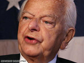 Sen. Robert Byrd says lost taxpayer dollars have found their way into insurgents' coffers.