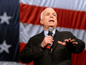Sen. John McCain says he knows how important young voters are.