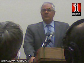 """Rep. Barney Frank's intern, Avery Morrow, says Frank joked that his bill didn't have a """"high chance"""" of passing."""