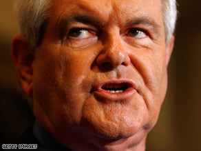 Former House Speaker Newt Gingrich is drawing attention to a Republican call for offshore oil drilling.