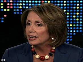 U.S. House Speaker Nancy Pelosi urges the release of oil from strategic reserves as a way to bring down gas prices.