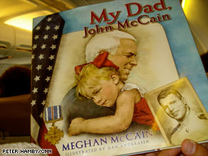 Meghan McCain, 23, keeps a blog about the happenings on the campaign trail.
