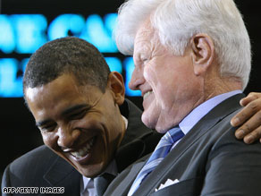 Sen. Edward Kennedy will appear tonight at the Democratic National Convention.