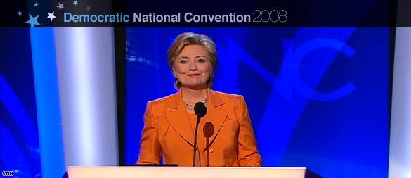 Clinton: 'No way, no how, no McCain'
