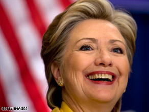 Sen. Hillary Clinton said Wednesday that she thinks Democrats will leave Denver united.