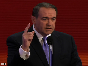 Sarah Palin got more votes for mayor than Joe Biden got running for president, Mike Huckabee said Wednesday.
