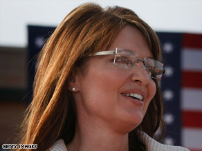Gov. Sarah Palin campaigns in Missouri the weekend before the National Republican Convention.