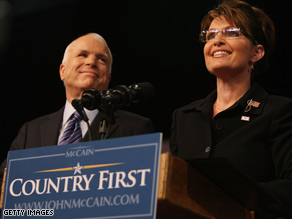 John McCain's choice of Sarah Palin as his running mate has generated immense interest and reaction.
