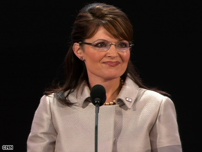 """Sarah Palin says she's ready for the """"challenge of a tough fight."""""""