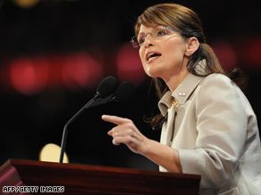 Barack Obama's campaign said Sarah Palin's speech sounded just like George W. Bush.
