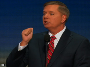 Sen. Lindsey Graham says John McCain is the leader America needs.