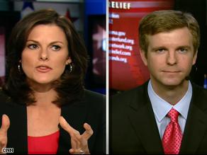 CNN's Campbell Brown interviews McCain spokesman Tucker Bounds.