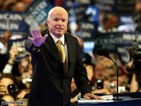 Sen. John McCain says he'll reduce government spending and get rid of failed programs.