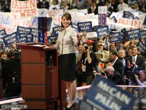 Sarah Palin is the Republican Party's new star.