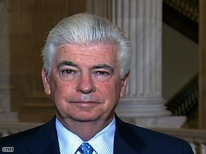 Sen. Christopher Dodd is chairing Tuesday's hearing on President Bush's proposed $700 billion bailout plan.