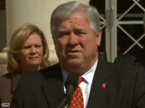 Gov. Haley Barbour says he's still planning on having a debate Friday night.