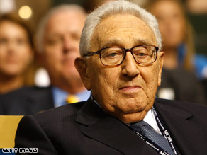 Former Secretary of State Henry Kissinger says he is not in favor of negotiations with Iran at the presidential level.
