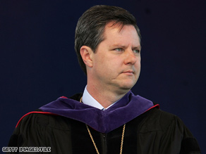 Chancellor Jerry Falwell, Jr. kicked off the voter drive by urging students to register locally.