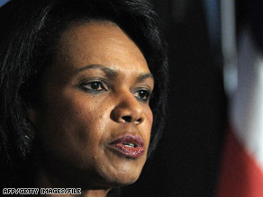 Secretary of State Condoleezza Rice says the nuclear deal will strengthen the U.S. partnership with India.