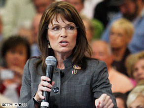 Alaska Gov. Sarah Palin has denied wrongdoing in the July departure of her public safety commissioner.
