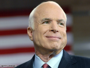 New polls suggest that Sen. John McCain is trailing his opponent in several GOP strongholds.
