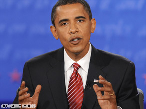 After debating Sen. John McCain, Sen. Barack Obama says there's still plenty of campaigning to be done.
