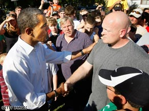 Obama and John McCain said Joe, Joe Wurzelbacher or Joe the Plumber a collective 26 times Wednesday.