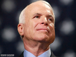 Sen. John McCain is trailing his Democratic opponent in CNN's latest polls.