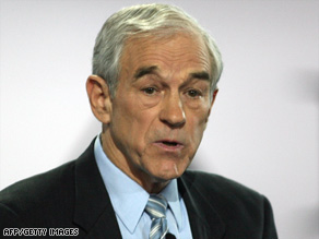 "Ron Paul: ""Give up on this idea that inflation solves everybody's problems."""
