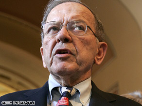 Sen. Ted Stevens denied trying to conceal information from the Senate.