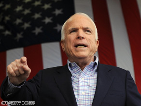 Sen. Barack Obama holds a 6-point lead over McCain, according to CNN's average of national polls.