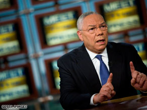 "Colin Powell said the approach of the Republican Party and McCain has gotten ""narrower and narrower."""