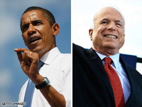 Americans say Barack Obama would be a stronger leader but John McCain has the edge in experience.