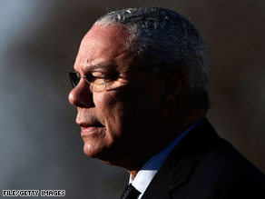 Powell endorsed Obama Sunday.