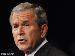 President Bush has largely stayed away from the campaign trail this year.