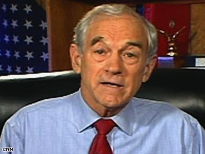 Rep. Ron Paul says that what really needs regulating is the  Federal Reserve.