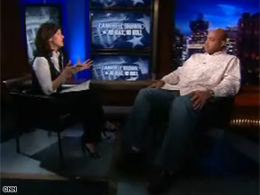 Charles Barkley tells Campbell Brown some whites will vote for Obama, but tell their friends they didn't.