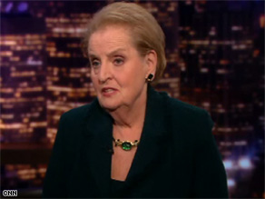 Former Secretary of State Madeleine Albright discusses issues she predicts will face the next president.