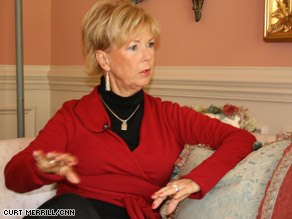 Nancy Brink lost a lot of her retirement savings when the stock market dived.