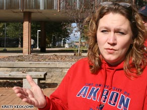 Deborah Helms lost her receptionist job and may soon run out of money for rent.