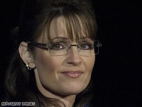 Palin, at McCain's concession Tuesday night, boosted the GOP ticket at first but ultimately became a drag on it.