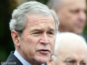 Bush meets with Obama at the White House Monday as his disapproval ratings reach a new high.