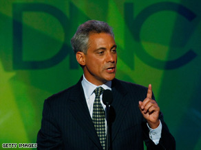 Rahm Emanuel's appointment got mixed reaction from Republican and Democratic leaders.