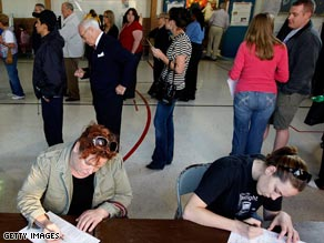 A record 2.9 million voters cast ballots Tuesday in Missouri.