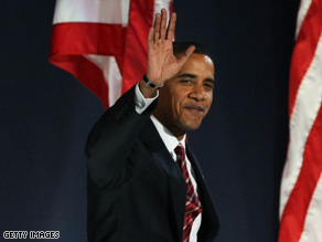 President-elect Barack Obama's victory was not the only thing that made Democrats smile.