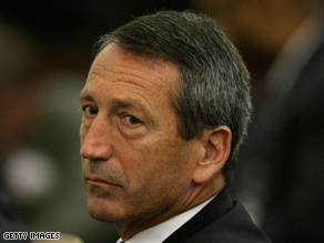 Gov. Mark Sanford says Republicans campaigned as conservatives but didn't govern that way.