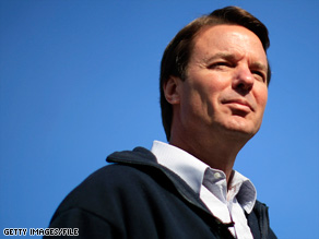 John Edwards admitted in August that he had an affair with Rielle Hunter in 2006.